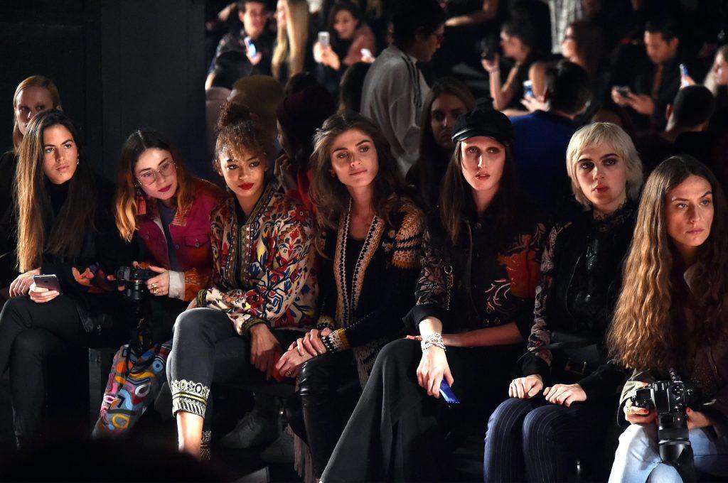 DESIGUAL NYFW AW17 FRONTROW 29 1024x680 - Desigual en New York Fashion Week 2017