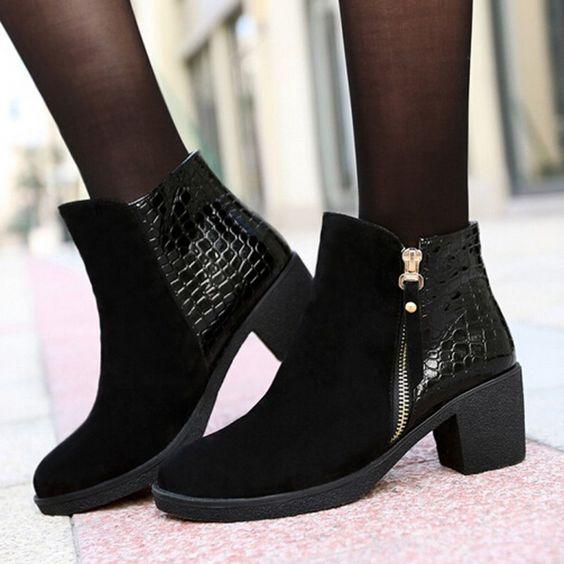 botin 1 1 - Zapatos para lucir en la oficina