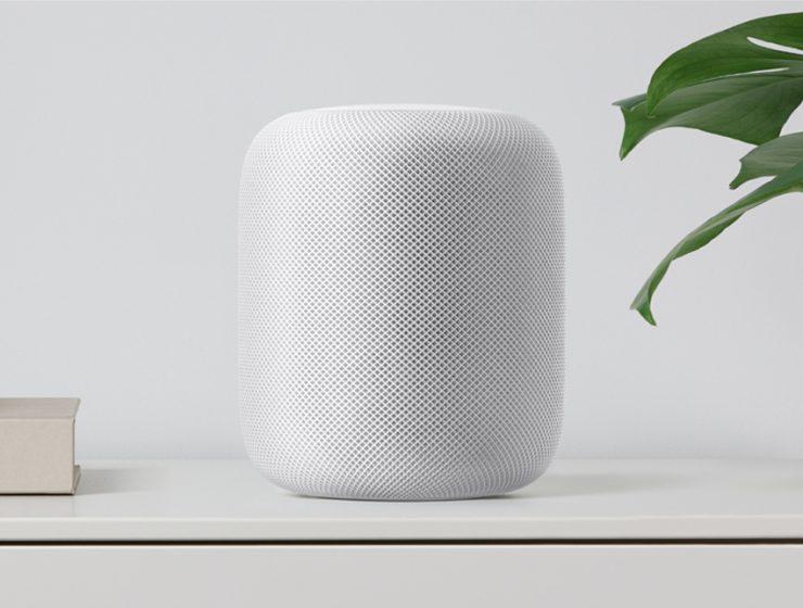 homepod white shelf 1 740x560 - HomePod reinventa música en el hogar
