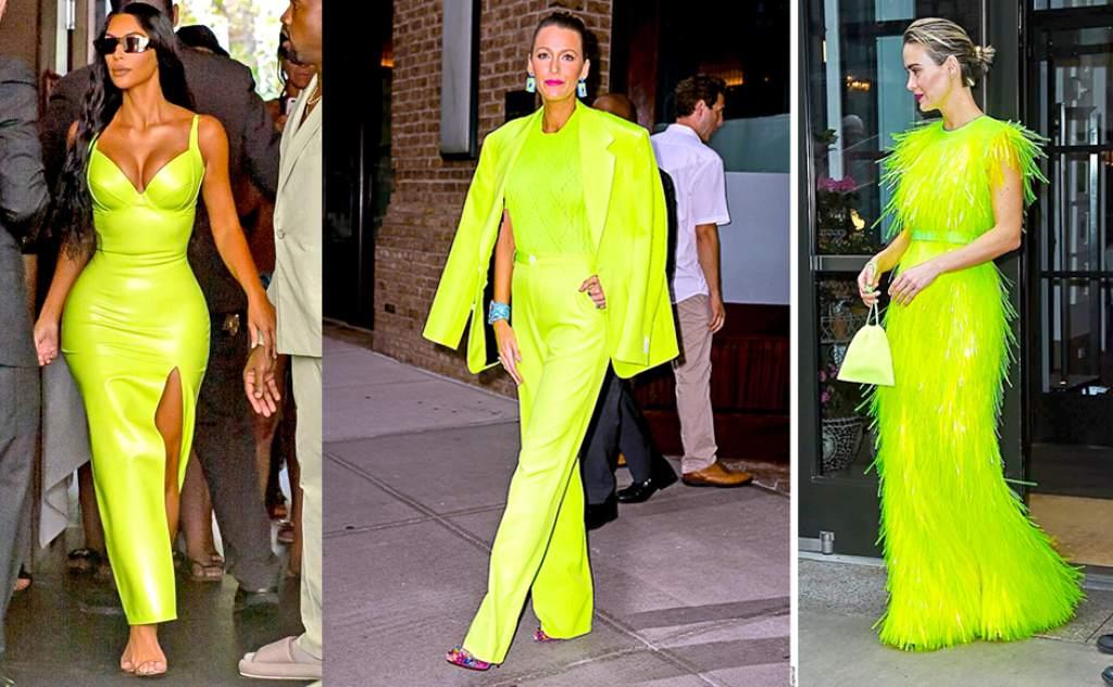 3 celebrities - El color neón llega como una corriente electrizante