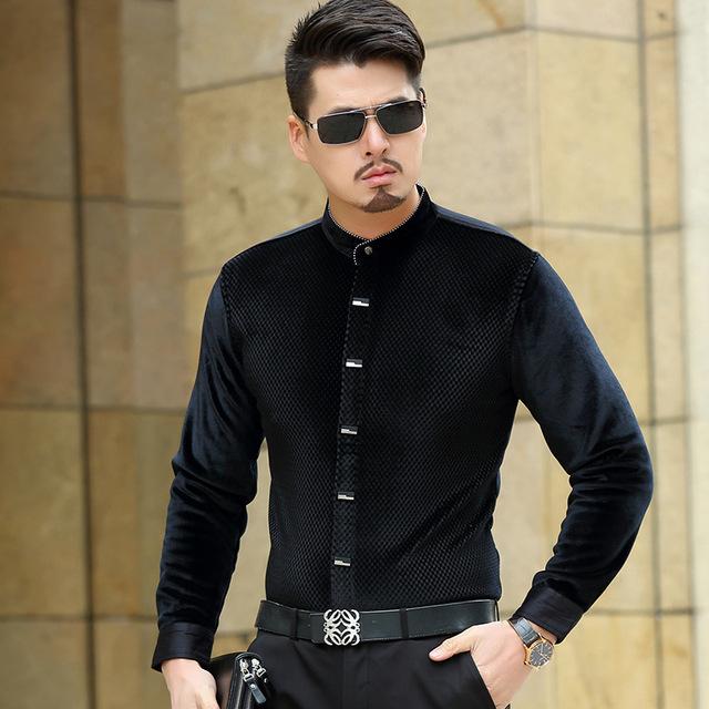camisa negra pana - Entra partiendo la pana