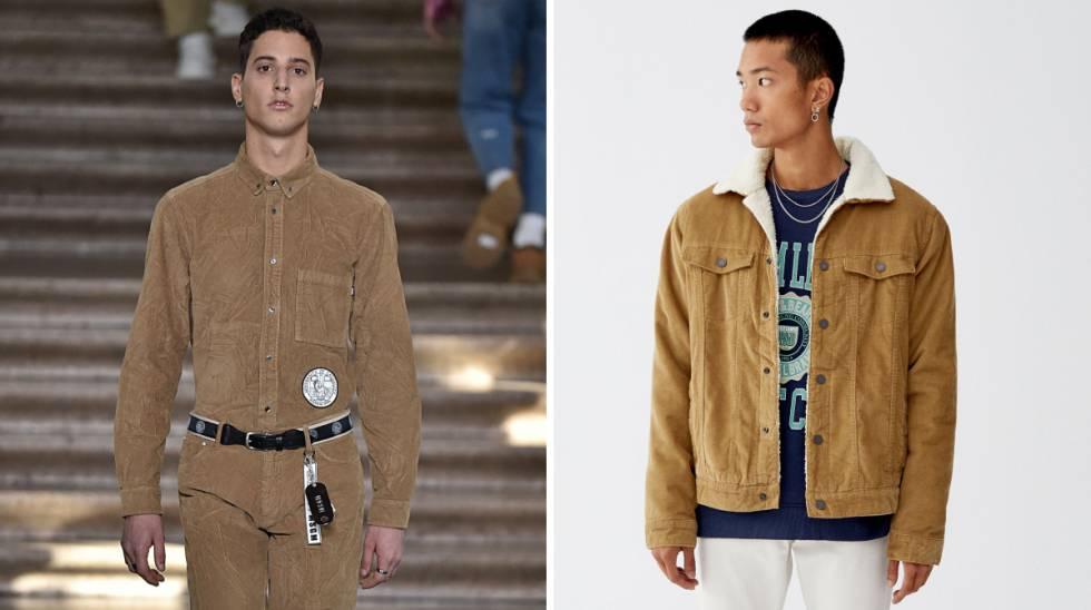 comparativa total look chaqueta pana - Entra partiendo la pana