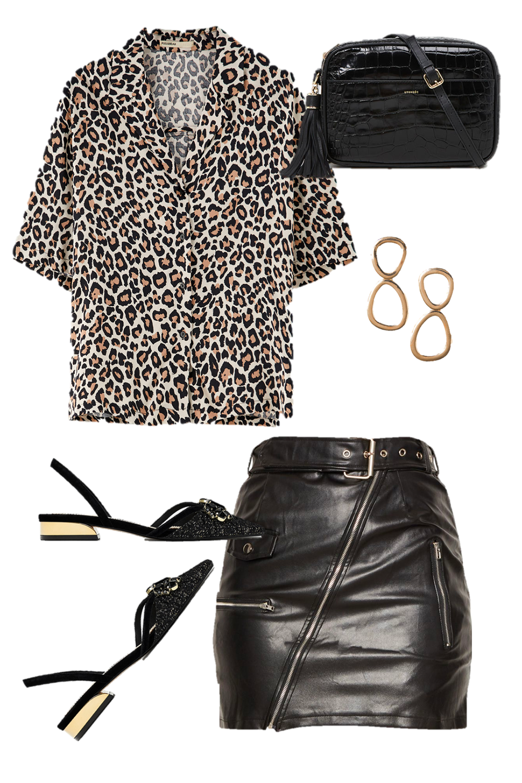 leopardo look - Una revolución muy salvaje