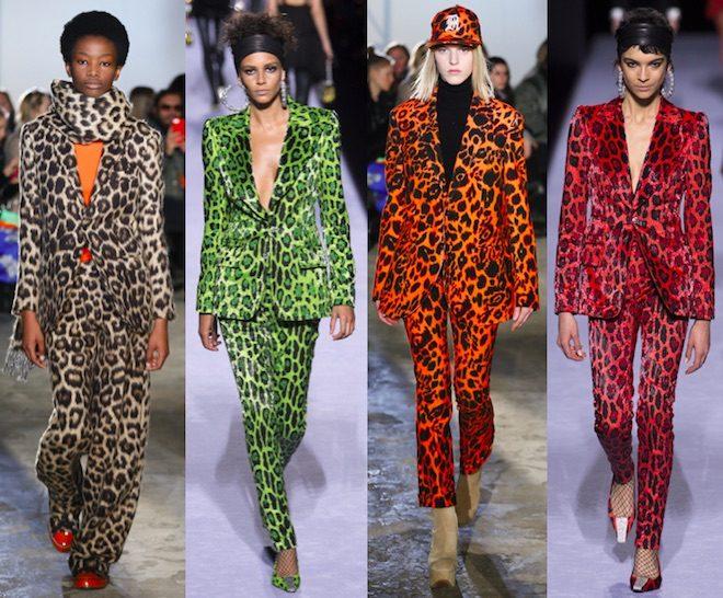traje animal print moda invierno 2018 660x546 - Una revolución muy salvaje