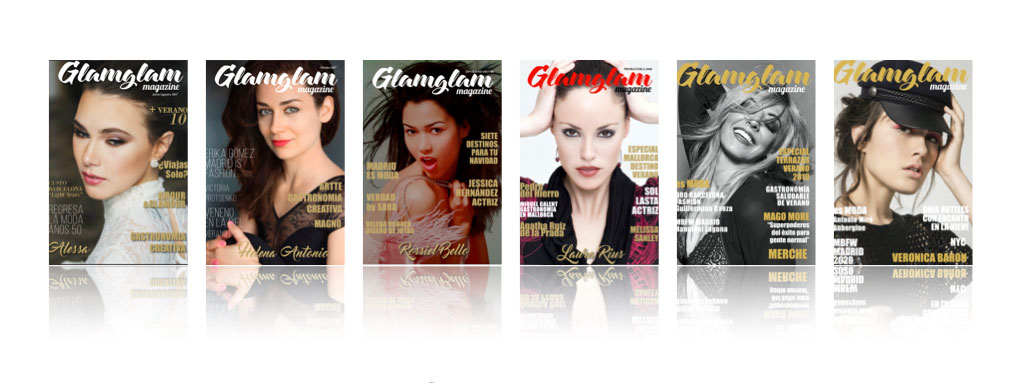 GLAMGLAM Magazine Portadas -