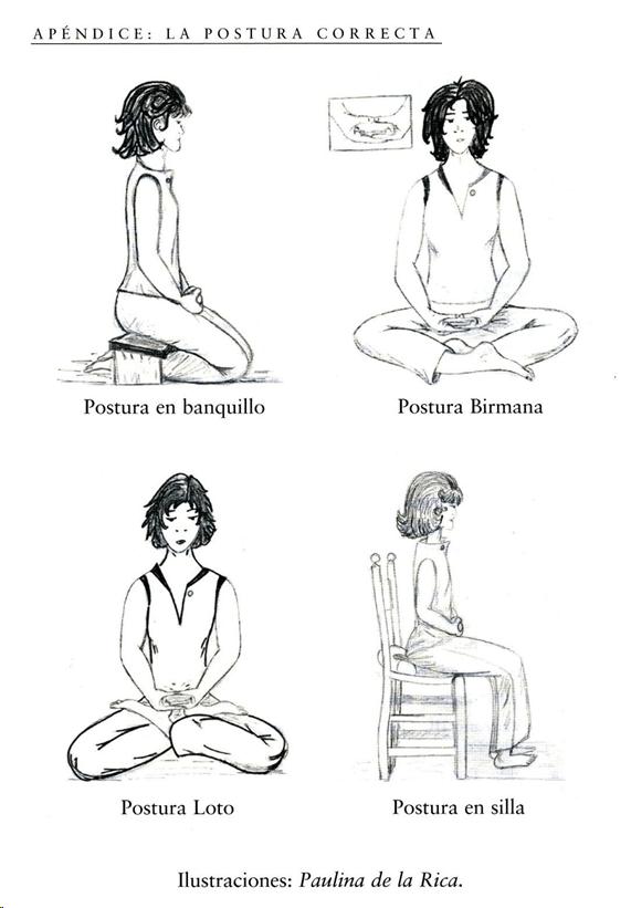 postura - Meditación como vía de autoconocimiento y transformación - Natalia Galván